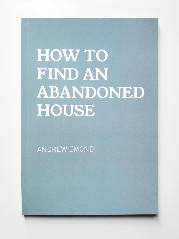 how to find an abandoned house book cover